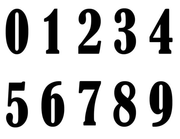 Number Names Worksheets printable numbers 1 to 10 : 4 Best Images of Printable Numbers 0 Through 10 - Printable ...
