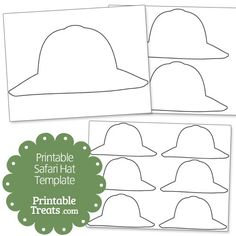 8 Images of Safari Clothes Template Printable
