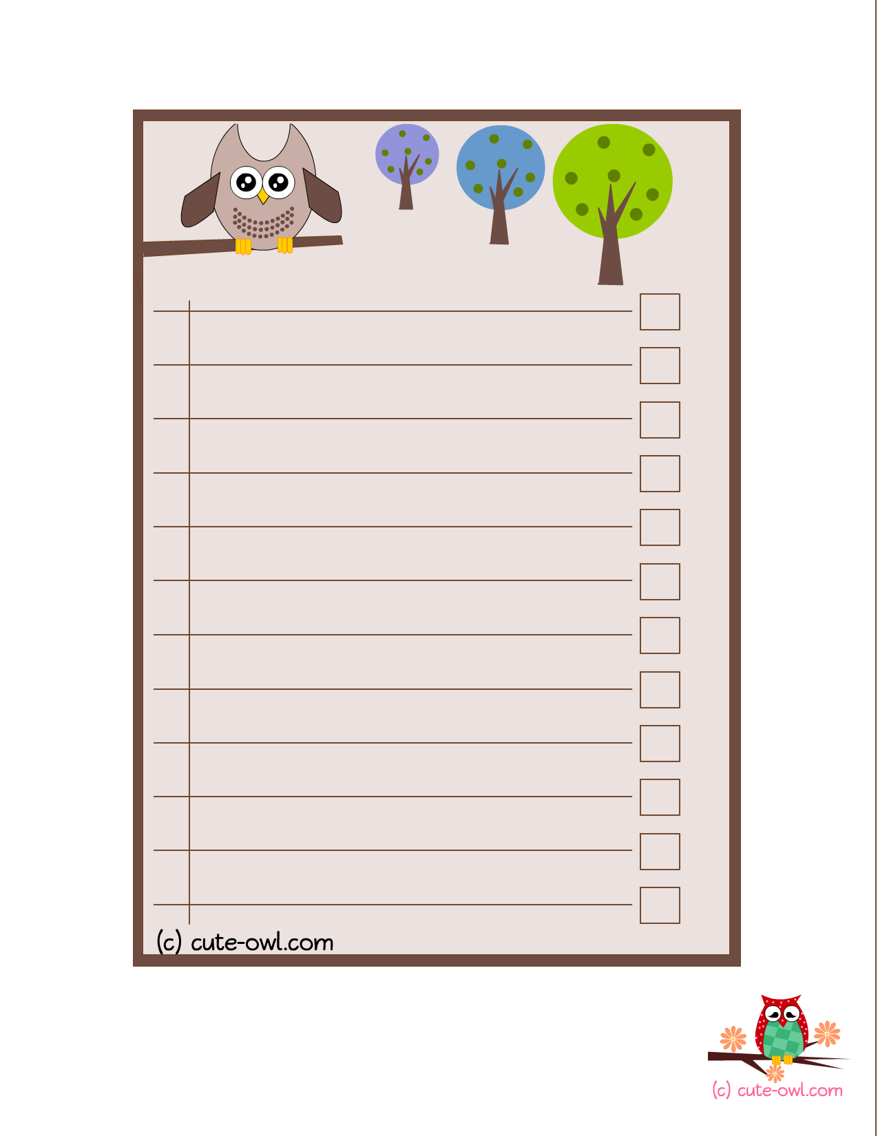 ... Do List Printable, Things to Do List & Free Cute Printable to Do List