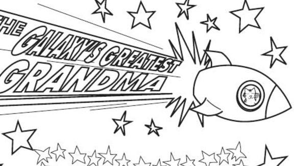 6 best images of grandma printable coloring pages happy for I love grandma coloring pages