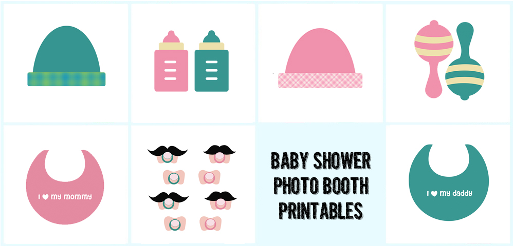 printable baby shower props booth props free printable baby shower