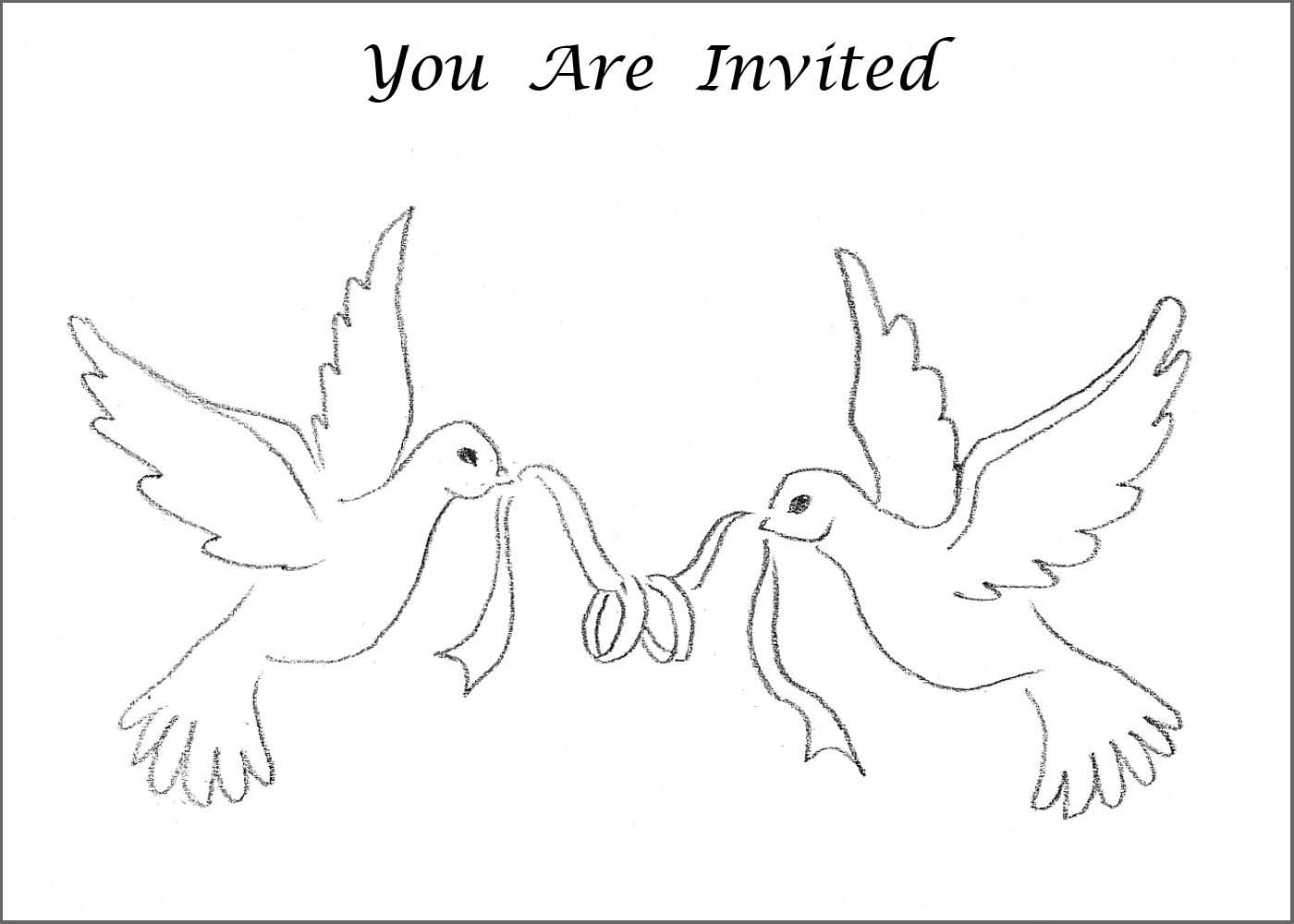 6 Best Images Of Printable Wedding Symbols Doves