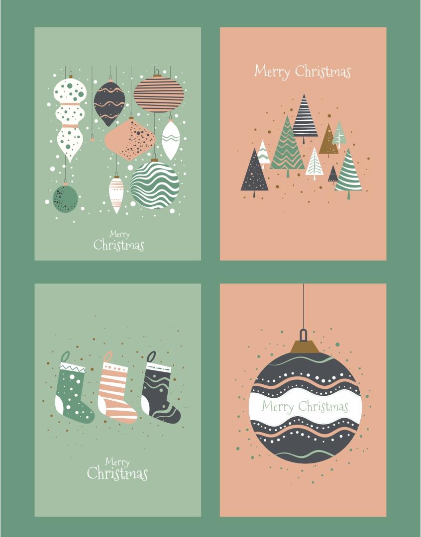 Editable Christmas Gift Tags Printables
