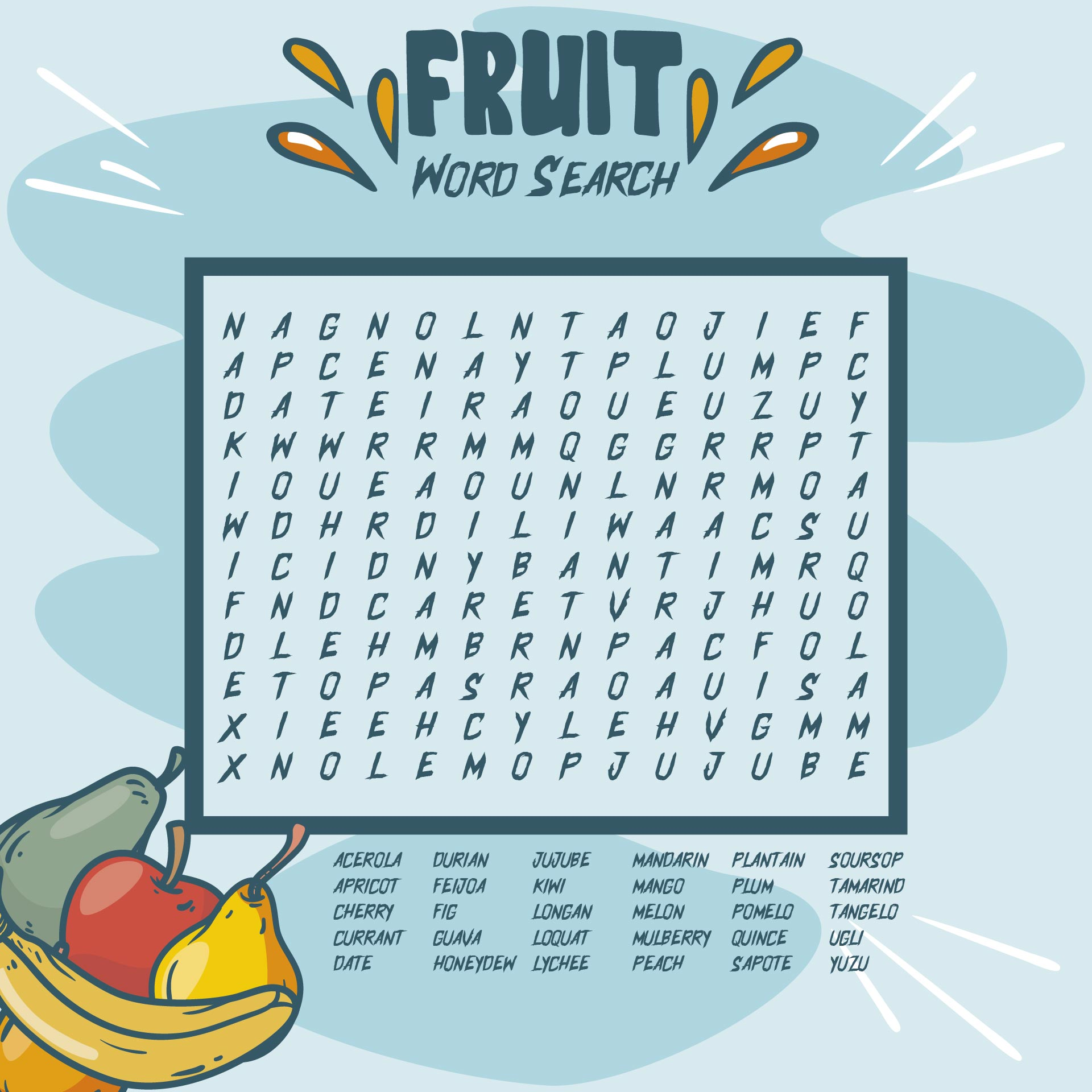 Find Word Search Puzzles