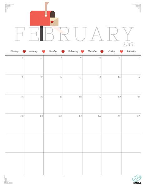 Calendar Design Tumblr : Best images of cute printable calendar february