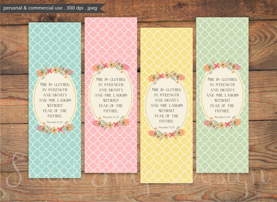 5 Images of Free Printable Bible Bookmarks