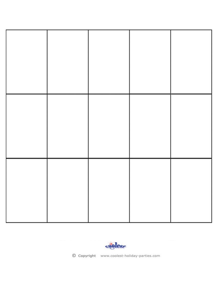 6 best images of printable bingo sheets  free blank bingo