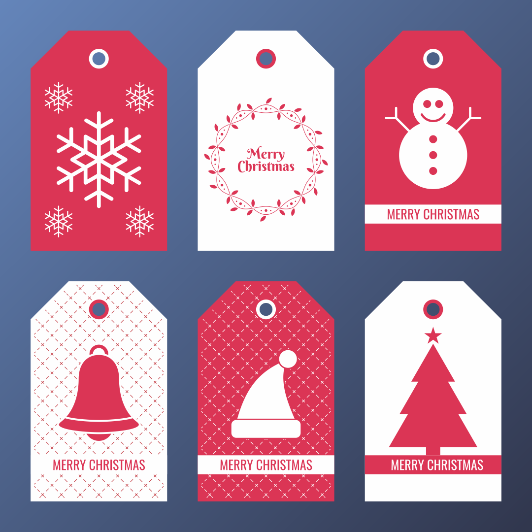... Printable 6 best images of free printable editable christmas tags