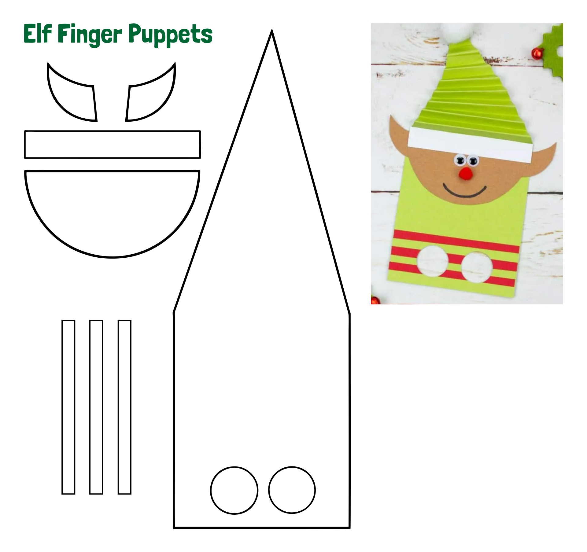 6 Images of Printable Christmas Paper Crafts