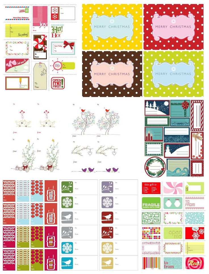 8 Images of Free Christmas Printables On Pinterest