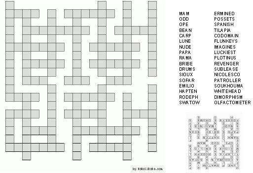 Bold poker bet crossword puzzle