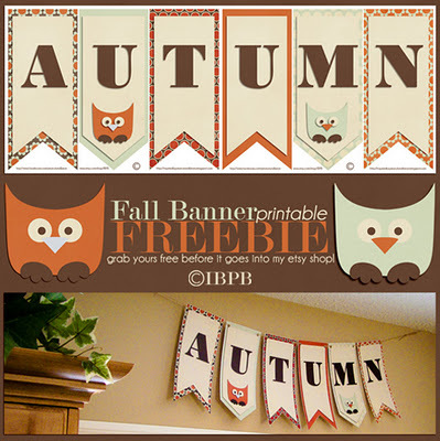 4 Images of Free Printable Autumn Banner