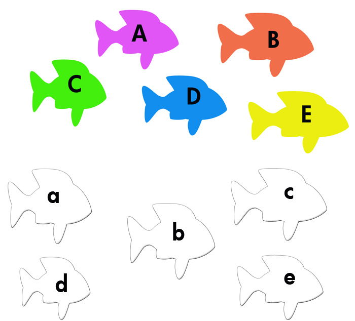 7 Images of Printable Letter Games For Kindergarten