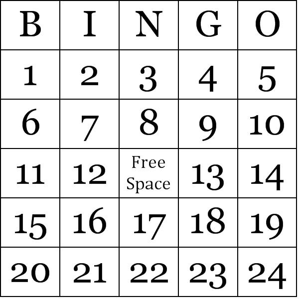 6 best images of free custom bingo cards printable free