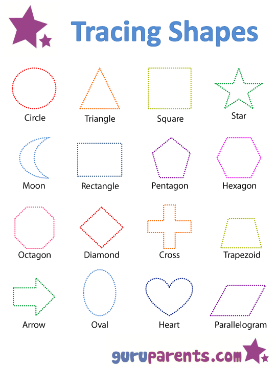 Printables Printable Shape Worksheets printable shapes worksheets free intrepidpath 4 best images of preschool shape