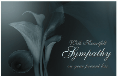 5 Images of Free Printable Sympathy Cards Death