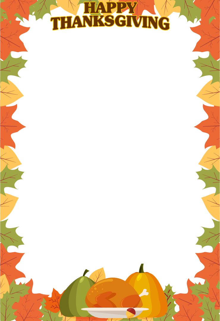 6 Images of Free Printable Thanksgiving Clip Art