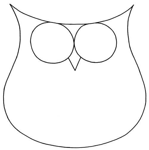 6 Best Images of Owl Outline Printable - How to Draw Owl ...