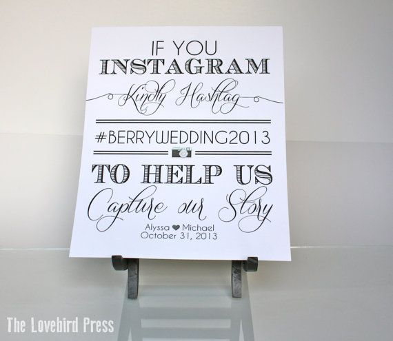 9 Images of Printable Wedding Signs Cute