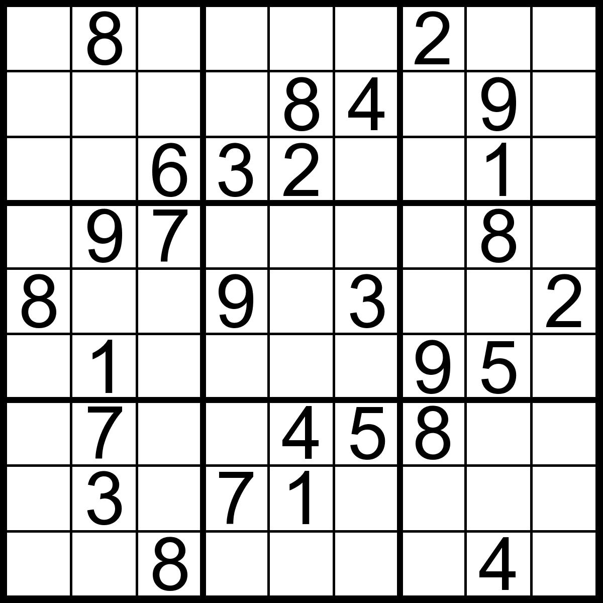 Kids Easy Printable Sudoku Puzzles