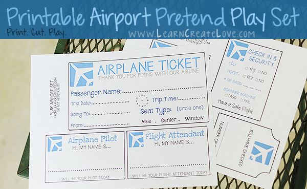 pretend plane ticket template - 7 best images of airline ticket template free printable