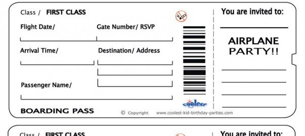 Doc500231 Printable Ticket Templates Free Printable Event – Printable Tickets Template Free