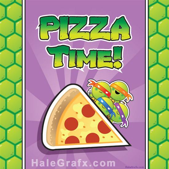 Teenage Mutant Ninja Turtles Birthday Party Invitations Free is great invitation example