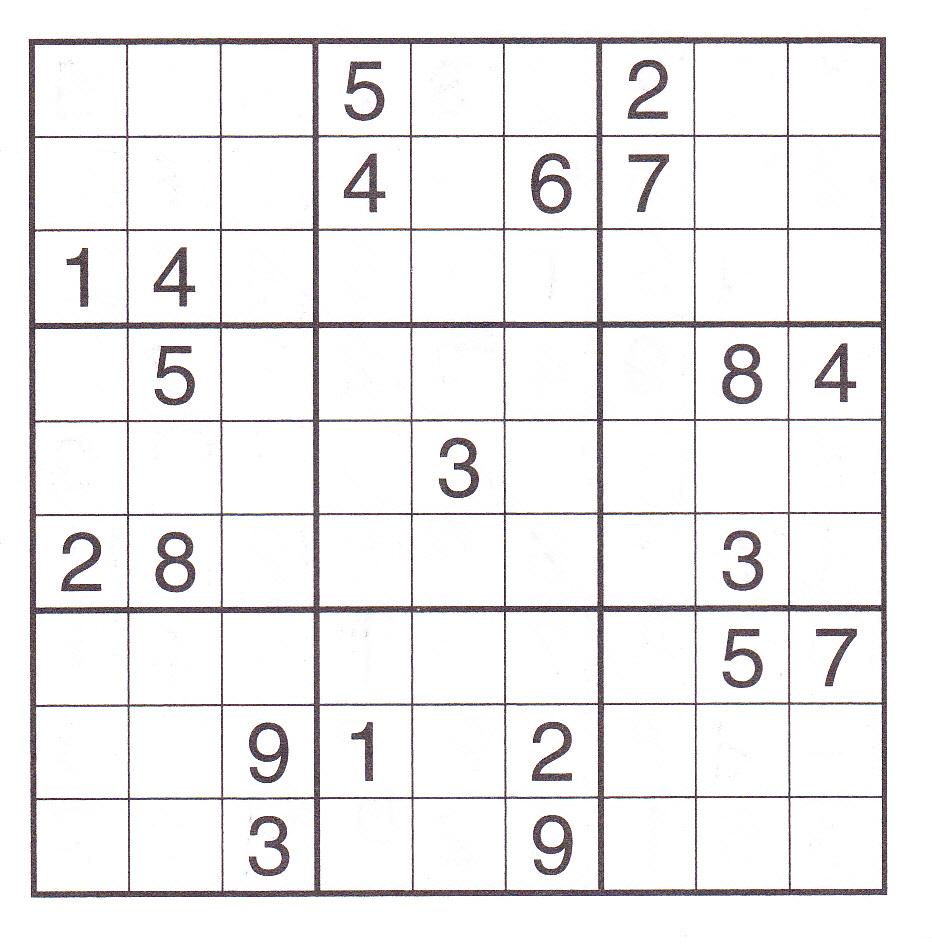 very hard sudoku puzzles pdf