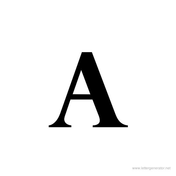 8 Images of Alphabet Letters Uppercase Printable