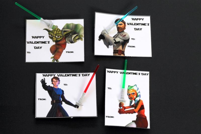 9 Images of Star Wars Valentine's Printables