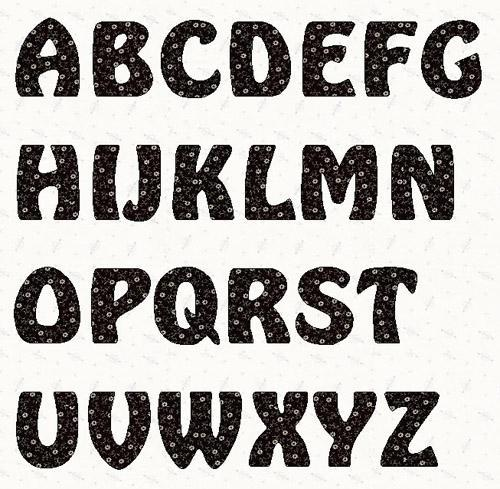 8 Images of 2 Inch Printable Block Letters