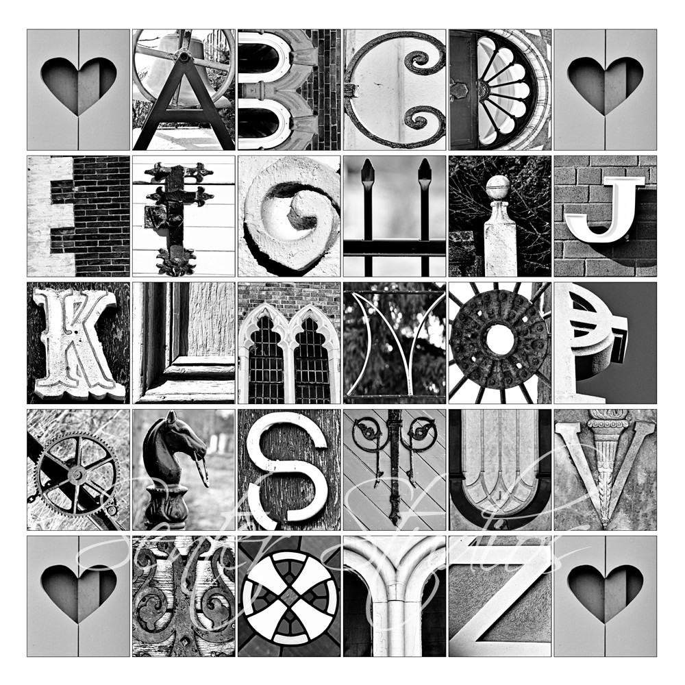 8 Images of Printable Letter Art Photography
