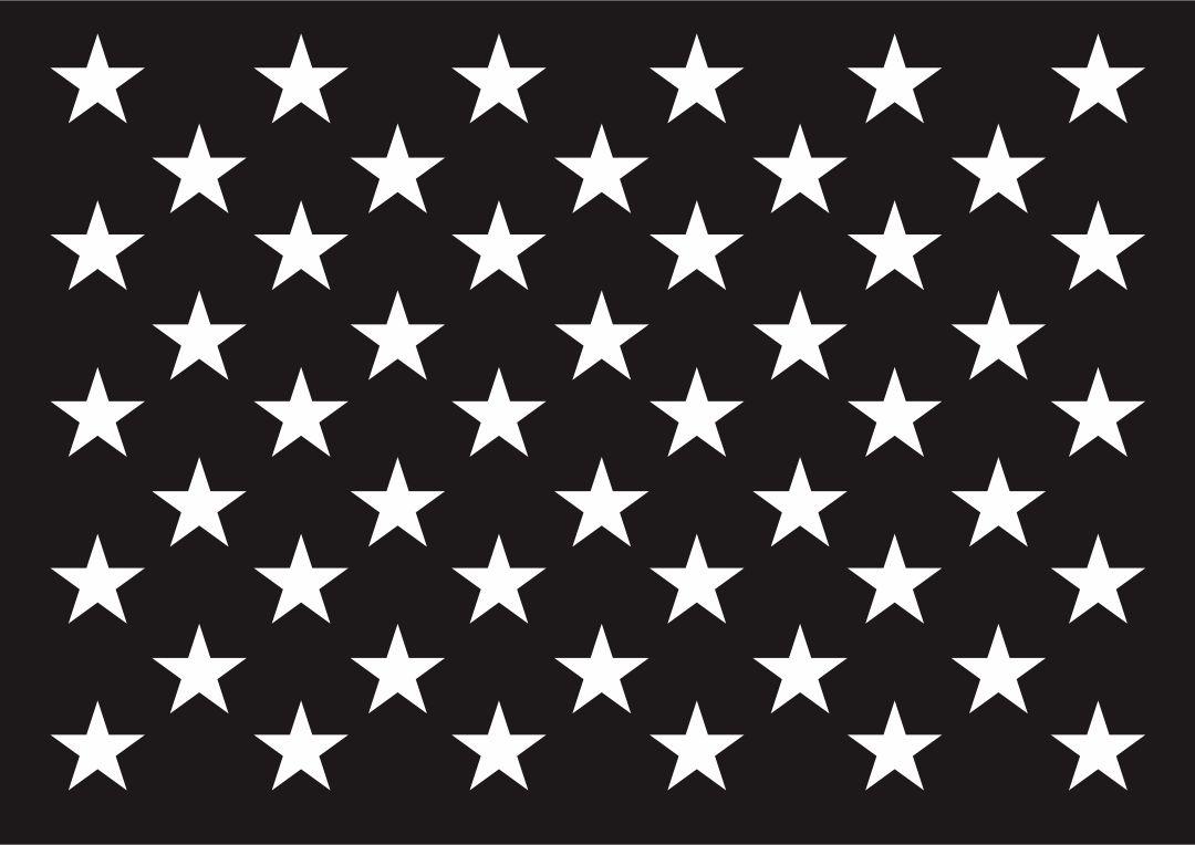 American Flag Star Stencils Printable