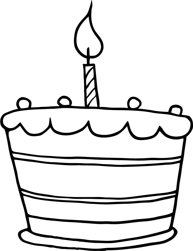 7 Images of Birthday Cake Candles With Printable