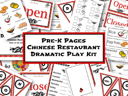 6 Images of Play Restaurant Printables