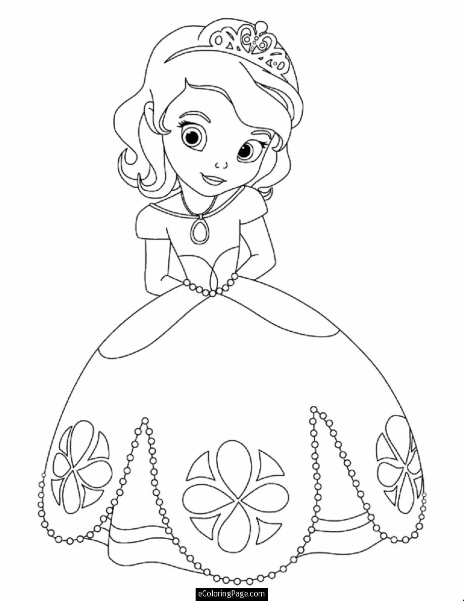 8 Images of Free Printable Disney Princess Coloring Pages