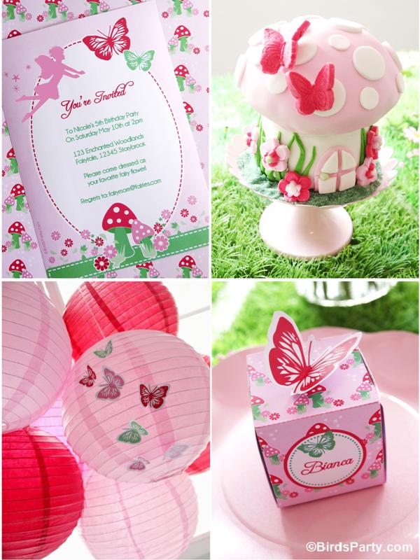 Fairies Birthday Party Ideas