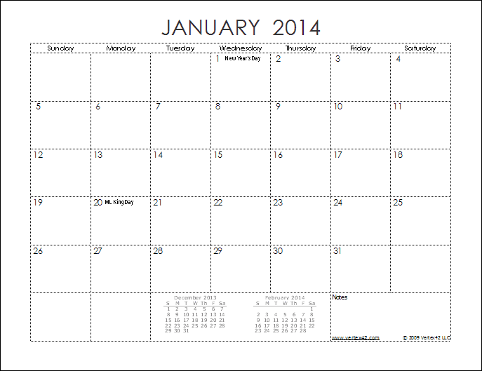 Sample Monthly Calendar : Best images of month calendar printable
