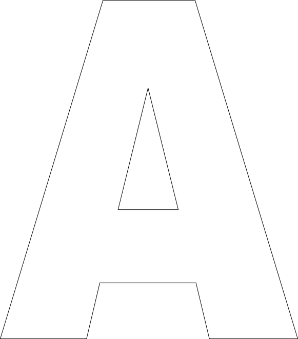 Printable Alphabet Letter Templates