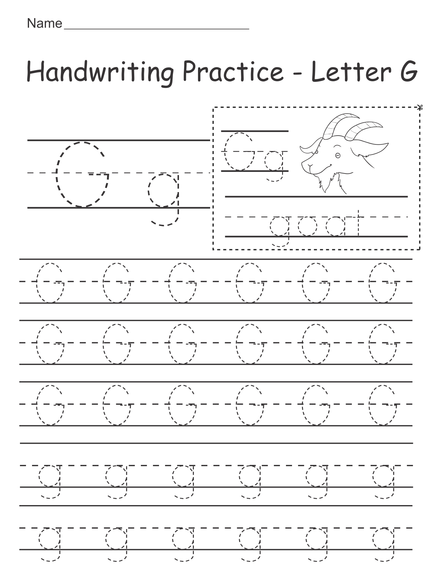 9 Best Images of Free Printable Alphabet Worksheets Kindergarten ...Free Printable Alphabet Letter Worksheets