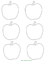 4 best images of free printable apple tags apple name for Free label templates for mac