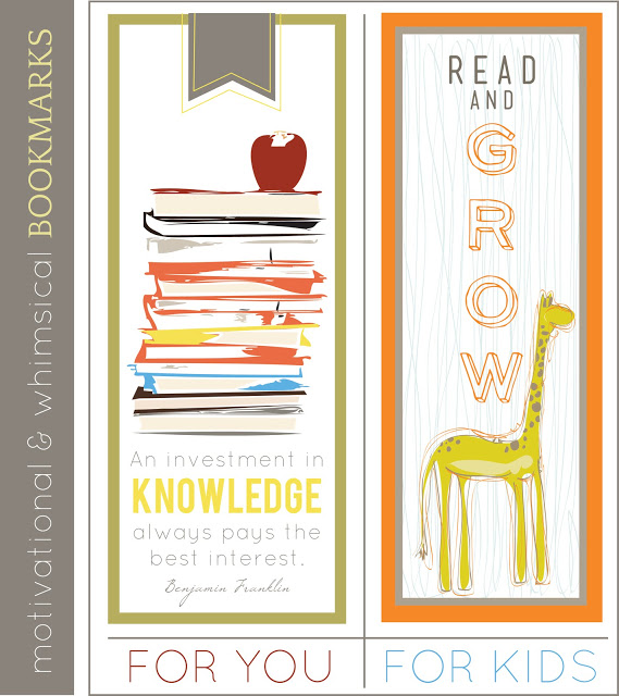 8 Images of Make Free Printable Bookmarks