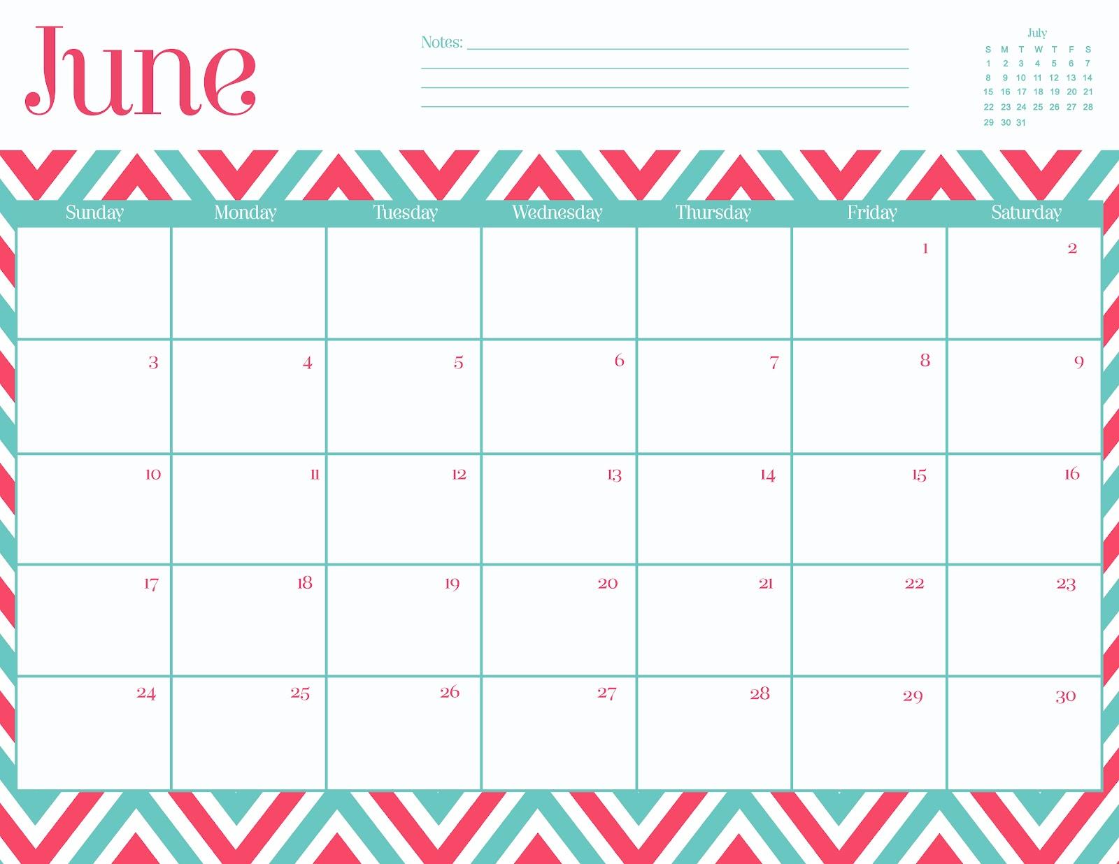Generic Blank 2016 Calendar | Calendar Template 2016