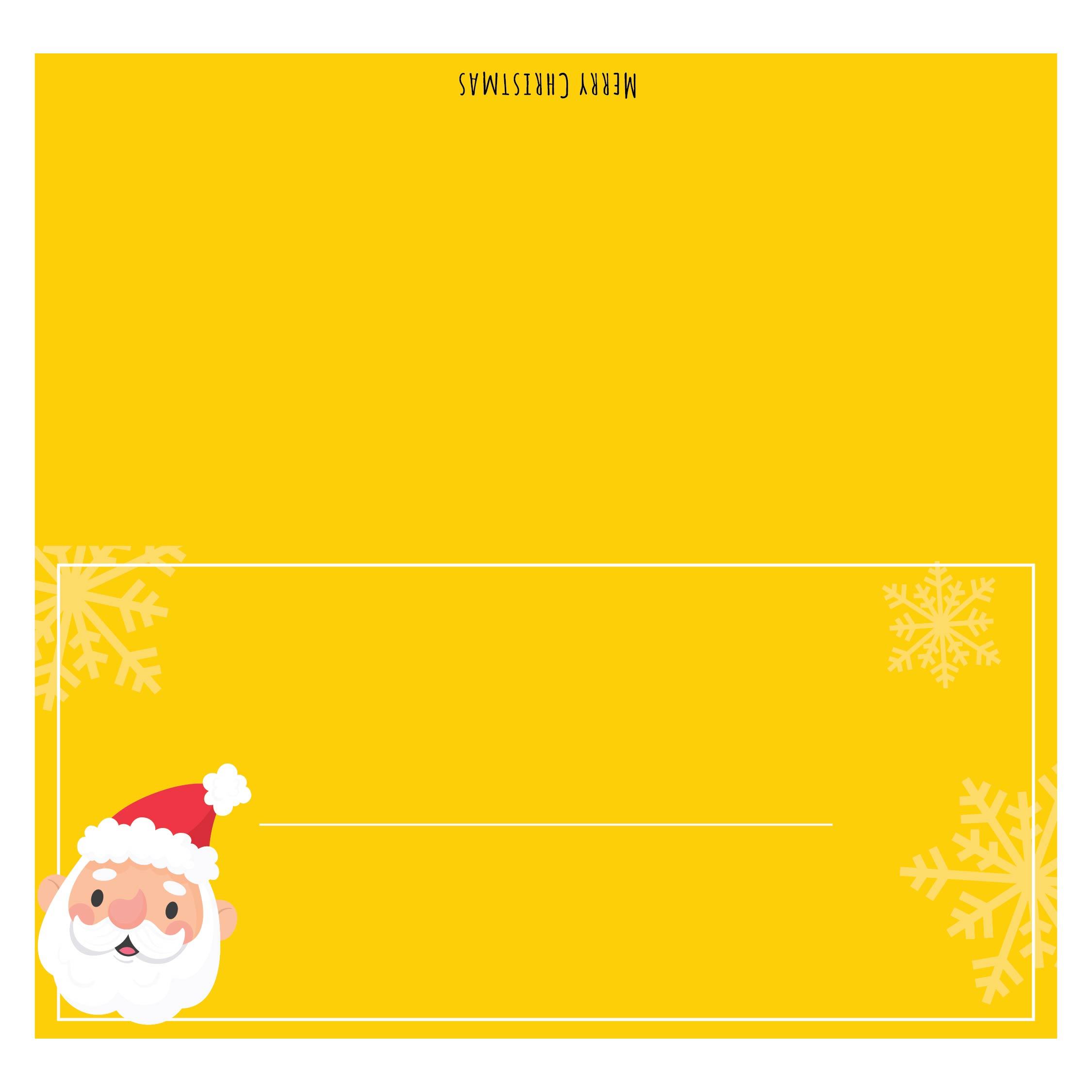 9 Best Images Of Printable Christmas Name Cards Free