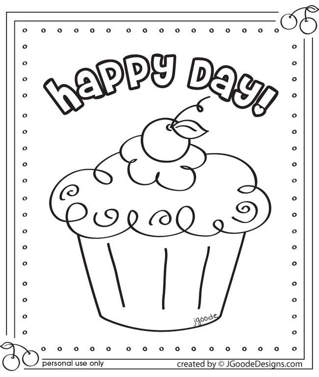 Gallery For gt Cupcake Printable