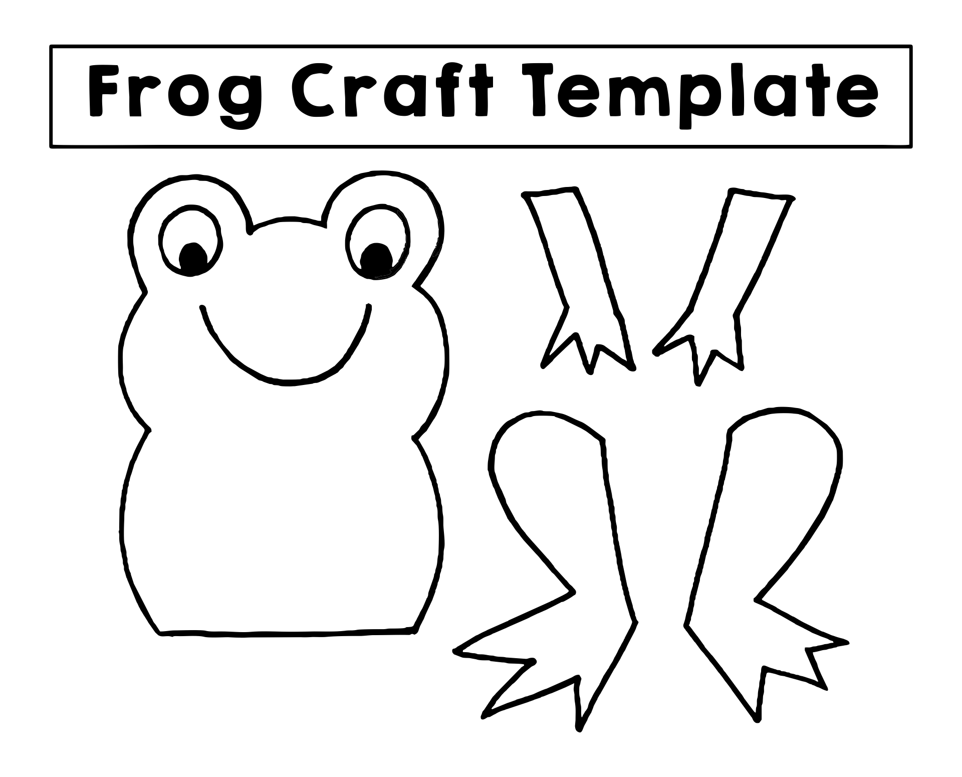 Printable Frog Crafts