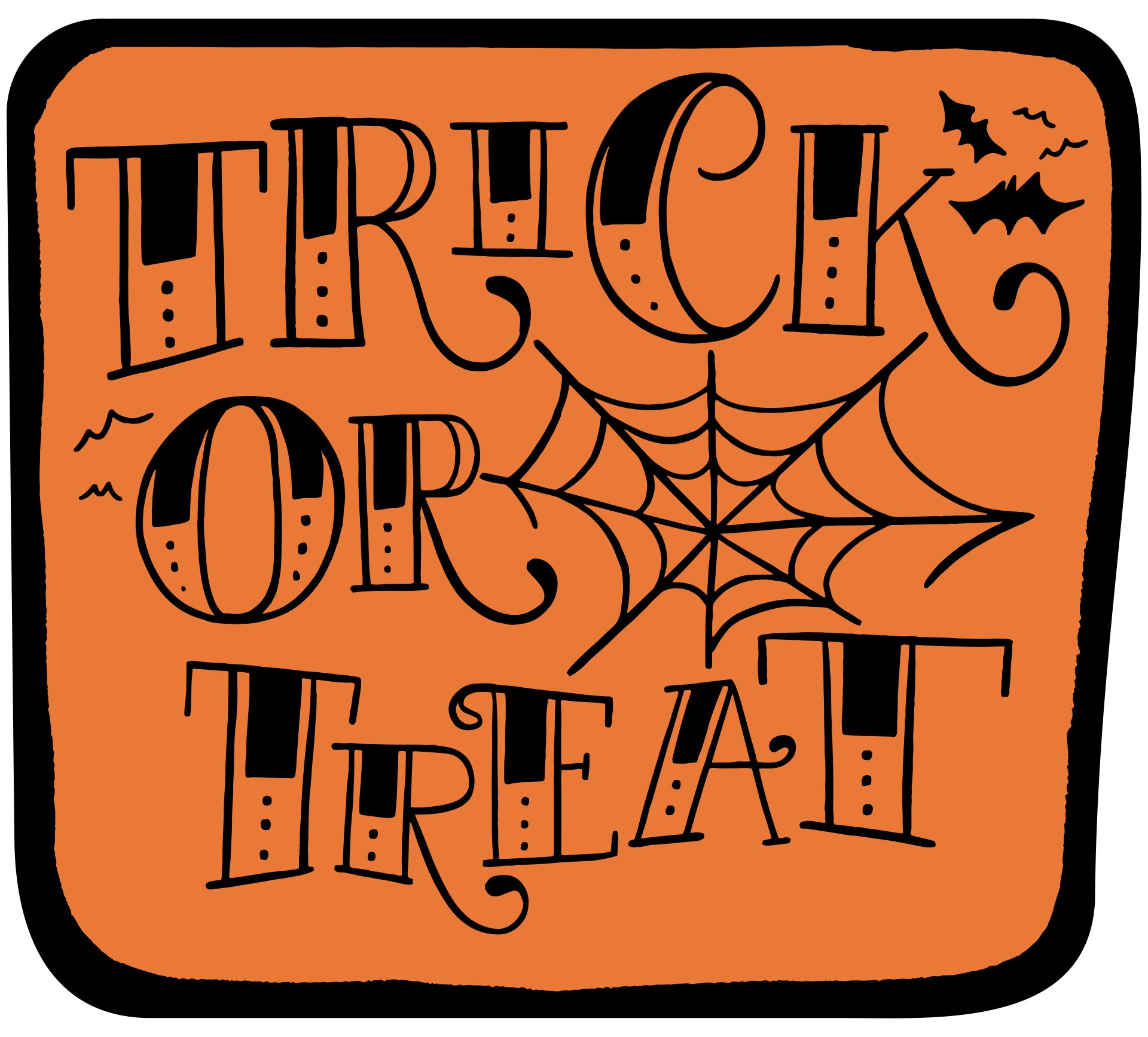 Printable Halloween Trick or Treat
