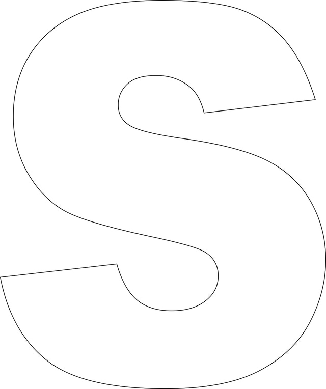 Printable Large Alphabet Letter Templates