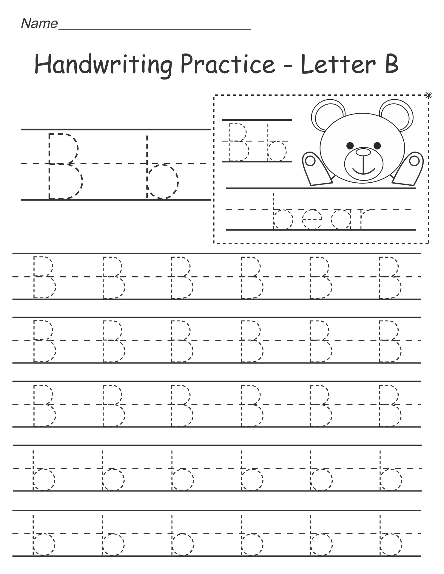 math worksheet : 9 best images of free printable alphabet worksheets kindergarten  : Free Letter Worksheets For Kindergarten