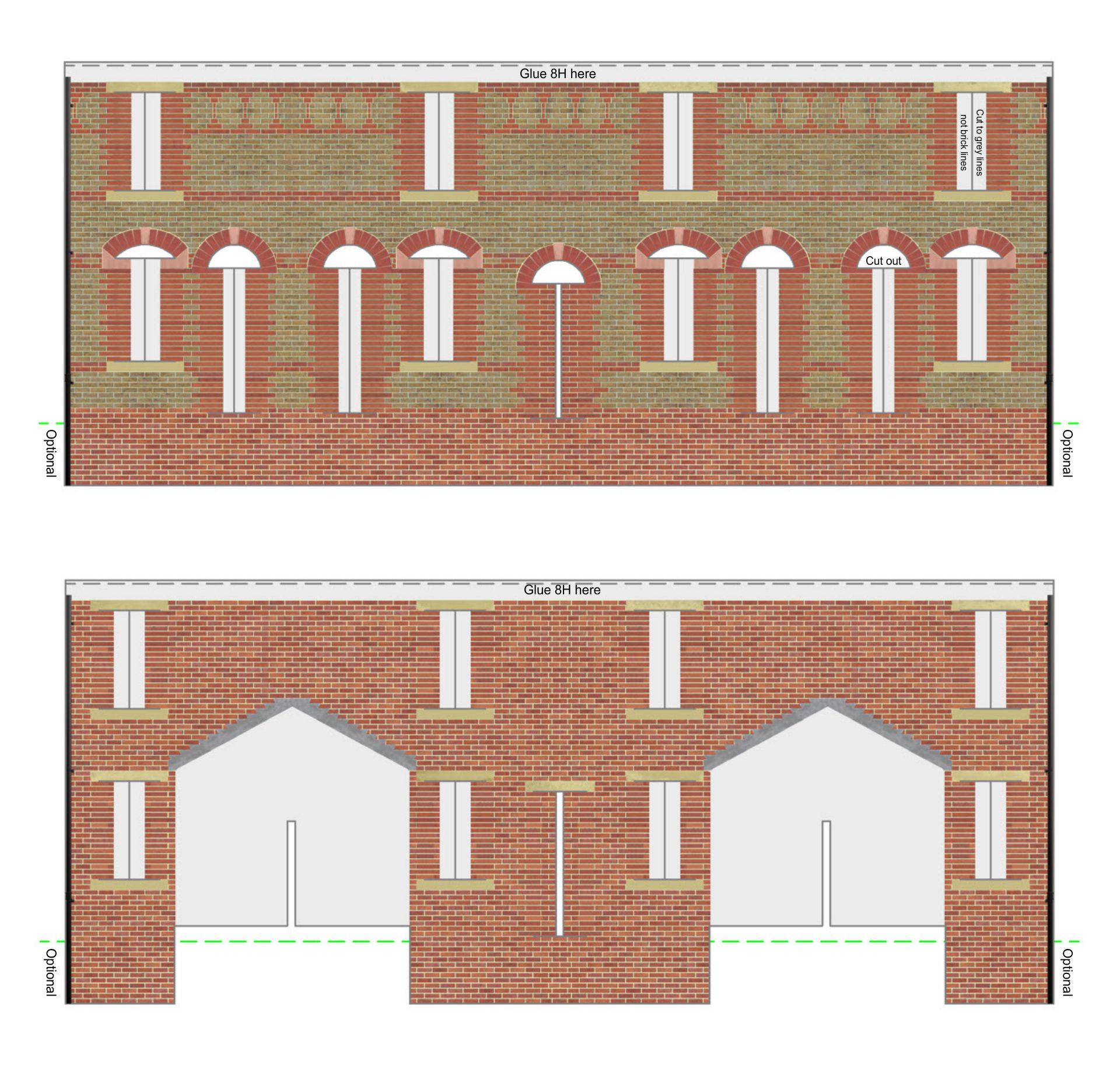 Printable N Scale Buildings
